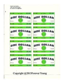 CLASS CASH REWARD COUPONS (Money)