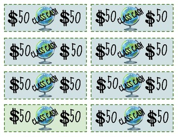 Class Cash, Reward Cash, Travel, Globe