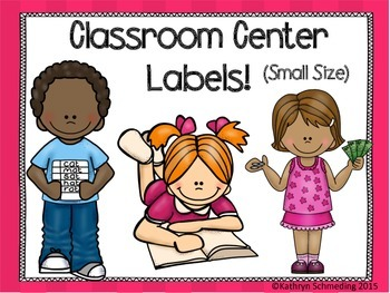 Class Center Labels (Small Size)