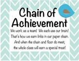 Class Chain of Achievement