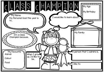 Class Champion and Class Champion Awards