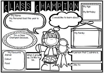 Class Champion and Class Champion Awards
