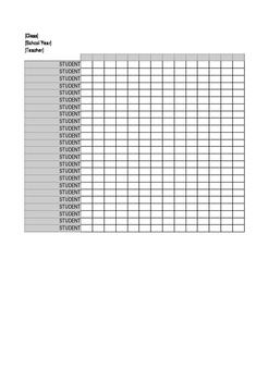 Class Check List