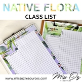 Class List Checklist   Editable   Multipurpose   6 patterns - Native Flora Theme