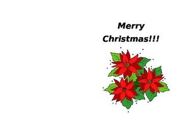 Class Christmas Card