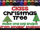 Class Triangle Christmas Tree Geometry Project!