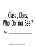 Class, Class Shared Reading Book Template