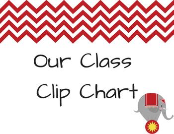 Class Clip Chart