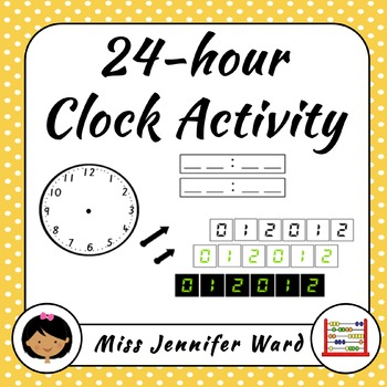 Analogue and Digital Clock Activity ~ Minute ~