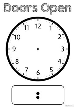 Class Clock display - Editable