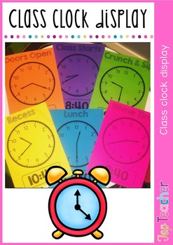 Class Clock display - Editable