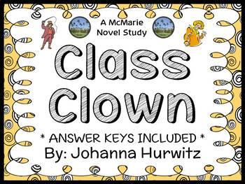 Class Clown (Johanna Hurwitz) Novel Study / Comprehension   (27 pages)