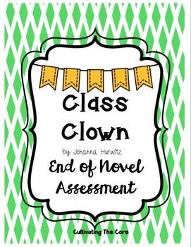 Class Clown Novel Assessment