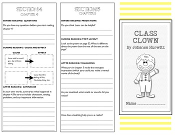 Class Clown Trifold-Level Q