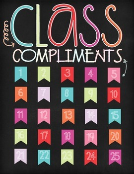 Class Compliments Behavior Managment Tool