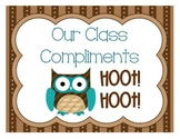 Class Compliments Owl Themed