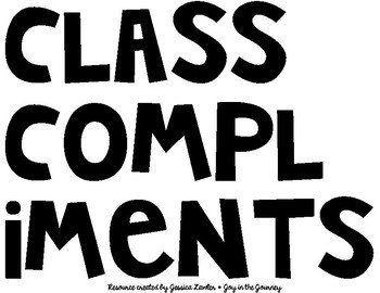 Class Compliments Whole Class Classroom Management FREE