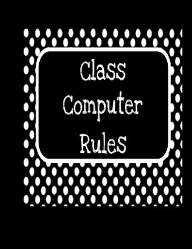 Class Computer Rules