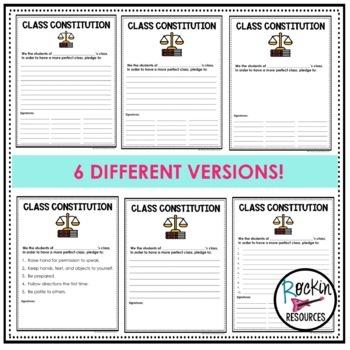 Class Constitution