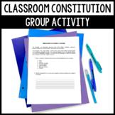 Classroom Constitution Activity - Great Icebreaker & Manag