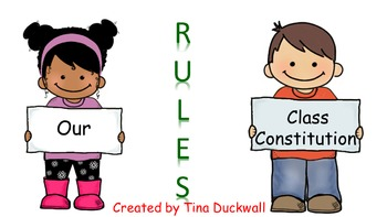 Class Constitution  (Class Rules)
