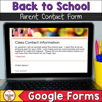 Open House Class Contact Form-Google Forms