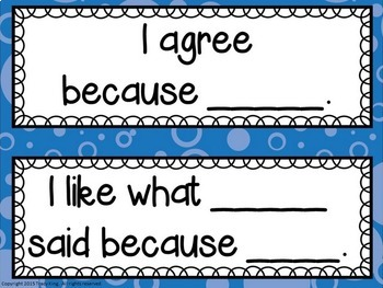 Classroom Conversations / Discussions Bulletin Board