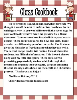 Class Cookbook