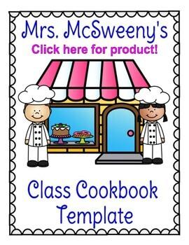 Class Cookie Cookbook Template