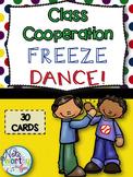 Class Cooperation Freeze Dance - Elementary Movement Activity