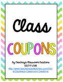 Class Coupon Reward System