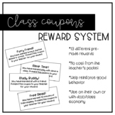Class Coupons Reward System