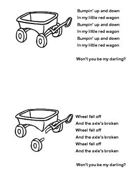 Class Created Songbook: Little Red Wagon (Free!)