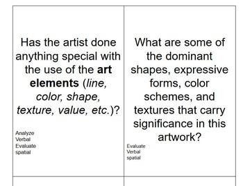 Class Critique/ Discussion Prompts