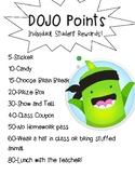 Class DOJO Rewards Printable