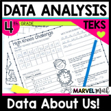 Class Data Book: Dot Plots, Stem-and-Leaf Plots, and more! by Marvel Math