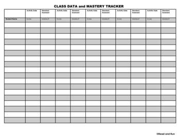 Class Data Tracker