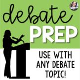 Class Debate Prep