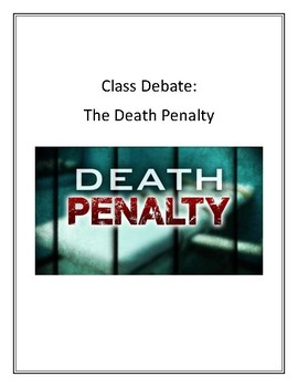 Class Debate: The Death Penalty