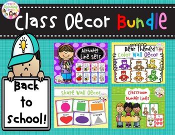 Class Decor Bundle(Back to School Items)