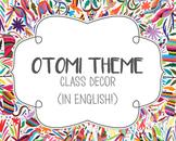 Class Decor Bundle - Otomi Theme (ENGLISH)