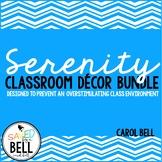 Class Decor Bundle Serenity Series
