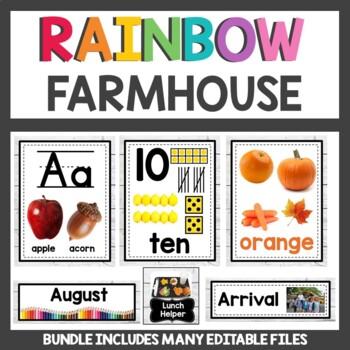 Classroom Decor Bundle Farmhouse Theme