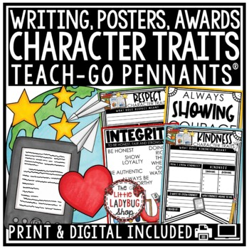 Character Trait Education Posters - Classroom Decor