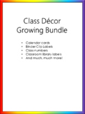 Class Decor Growing Bundle - Noah's Rainbow