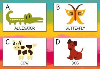 Class Decor and Morning Circle Charts and Flashcards Bundle {kindergarten}