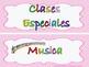 Class Decor in Spanish