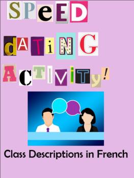 Jeux speed dating en Francais