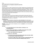 Class Discussion Preparation Form