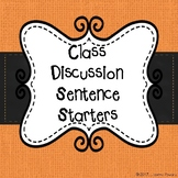 Class Discussion Starters